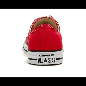 Converse Shoes - New CONVERSE CHUCKTAYLOR ALL STAR LOW TOP 9 red